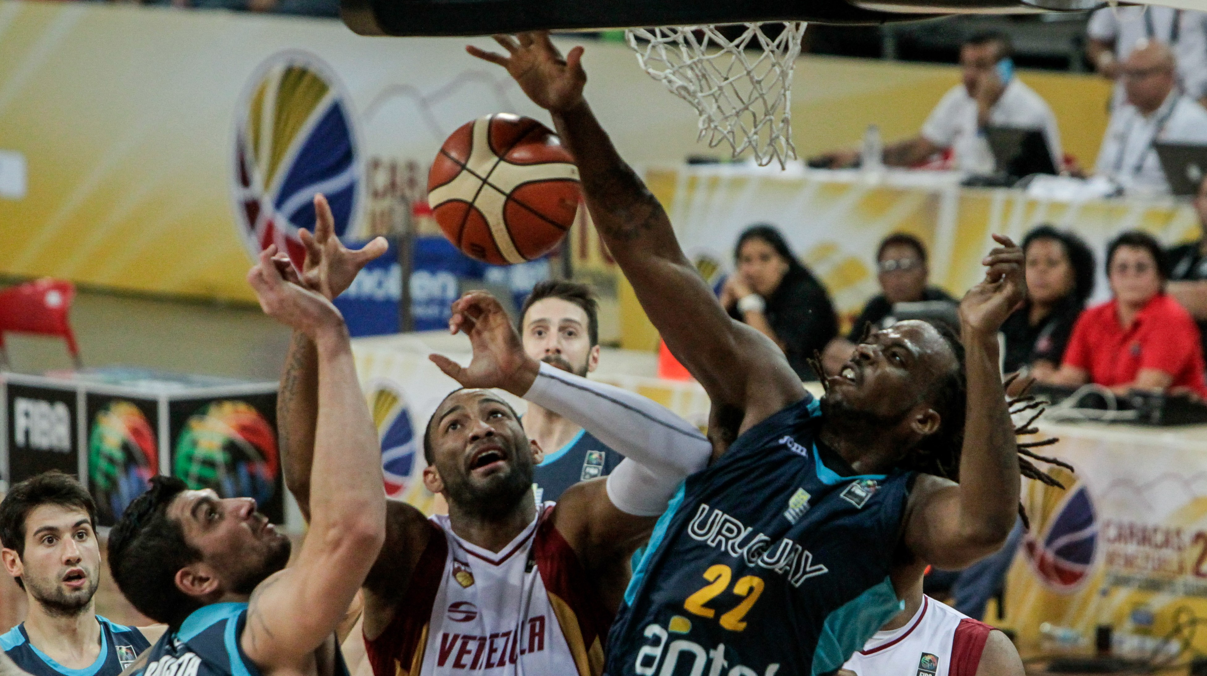 basket venzla uruguay sudamericano
